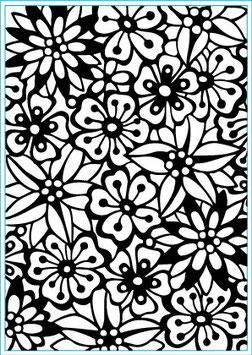 """Classeur d'embossage """"Bouquet"""" Elizabeth Craft"""