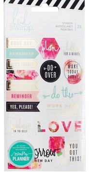 Heidi Swapp Memory Planner_Floral Stickers
