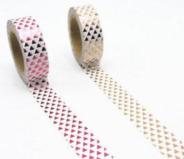 "Masking tape ""Mini triangles"""