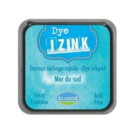 Aladine Pad encreur Dye Izink  bleu ciel - Mer du sud