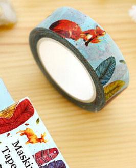 Masking tape Renard automne