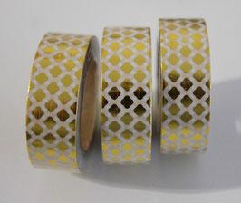 "Masking tape ""marocain"" gold"