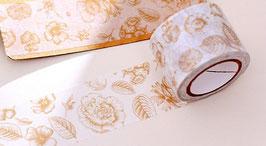 Masking tape floral OR 3cm
