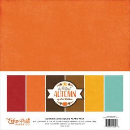 Pack 30*30 Echo Park A Perfect Autumn_ UNIS (6 papiers)