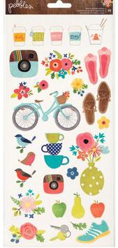 Stickers Happy Day_Peebles