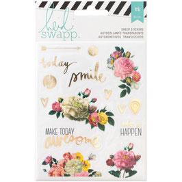 Heidi Swapp Memory Planner Clear Stickers