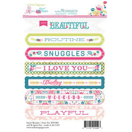 Sentiment Sweet Routine _Stickers