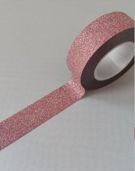 Mt Glitter Rose  15mm*5m