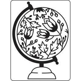 "Classeur d'embossage ""Globe"""
