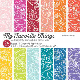 My Favorite Things Rose all over Pad 15*15