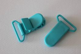 Clip fermoir turquoise