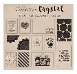 Set de cartes Project Life 'Swirlcards - Crystal' Noir