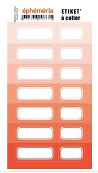 Stickers nuances de Corail