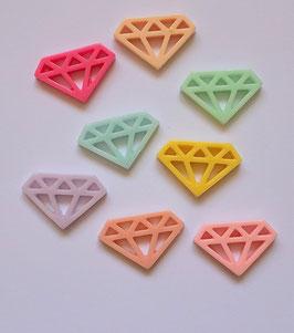 Diamant résine