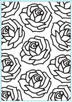 "Classeur d'embossage ""Roses"" Elizabeth Craft"
