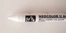 Néocolor2 Caran d'Ache aquarellable_Blanc