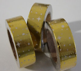 """Masking tape """"constellations gold"""""""