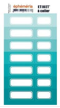 Stickers nuances de Turquoise