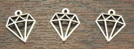 Breloque Diamant