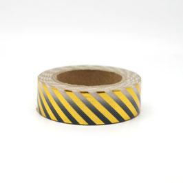 """Masking tape """"ombré or & noir"""""""