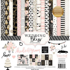 Echo Park - Wedding Bliss Collection - 30x30 Collection Kit