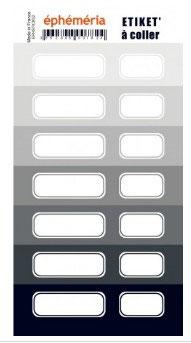 Stickers nuances de Gris