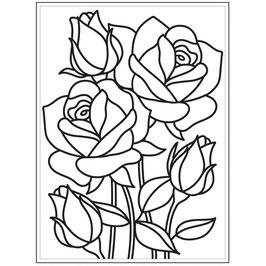 "Classeur d'embossage ""mosaic rose"""