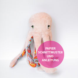Papieranleitung und Schnittmuster OCTOPUS ODETTE