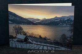 Fotogrusskarte gefaltet A5 inkl. Couvert Motiv 8