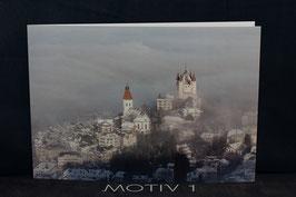 Fotogrusskarte gefaltet A5 inkl. Couvert Motiv 1