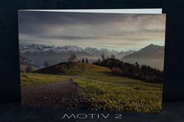 Fotogrusskarte gefaltet A5 inkl. Couvert Motiv 2