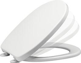 WC Sitz aus Duroplast, passend für Standardmaße