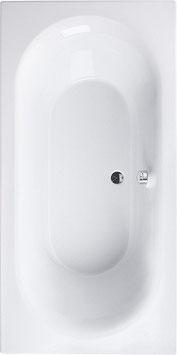 XL Badewanne 200x100cm, Acryl, weiß