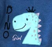 3025-121-S Dino Girl Pullover