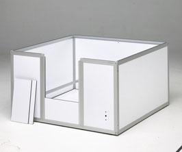 Caisse de mise-bas  ( Largeur: 850 mm ; profondeur : 850 mm; Hauteur : 500 )