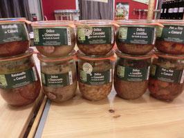 Mijotés à base de cuisses de canard