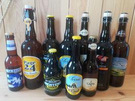 Bières blondes régionales