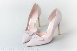 Туфли замшевые, каблук 10 см - 15 % СКИДКА !!! 37 размер