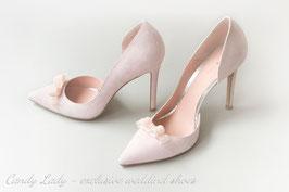 Туфли замшевые, каблук 10 см  - 15 % СКИДКА !!!