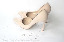 Туфли замшевые, каблук 10 см - 12% СКИДКА !!!