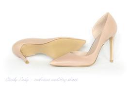 Классические туфли оттенка нюд - 30% СКИДКА на самую элегантную модель
