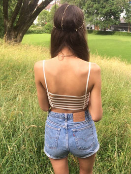 ♡ cute bralet with stripes ♡