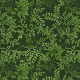 WALLPAPER ombres chinoises vert