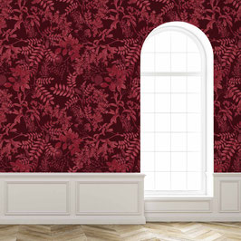 WALLPAPER ombres chinoises sienna
