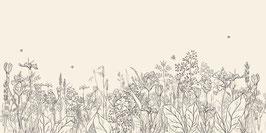 BOARDER dans les champs gris/beige