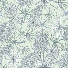 WALLPAPER papyrus vert turquoise/vert clair