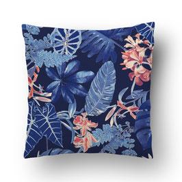 CUSHION forêt vierge bleu/bleu