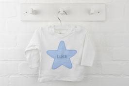 Stern T-Shirt mit Wunschnamen