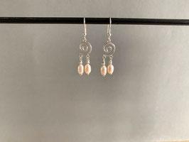Süsswasser-Perlen-Ohrhänger (24)