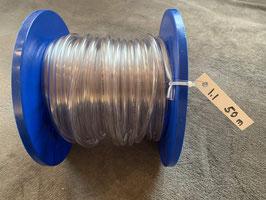 PVC-Schlauch, 6 x 9 mm - Rolle 1.1 mit 50 Meter